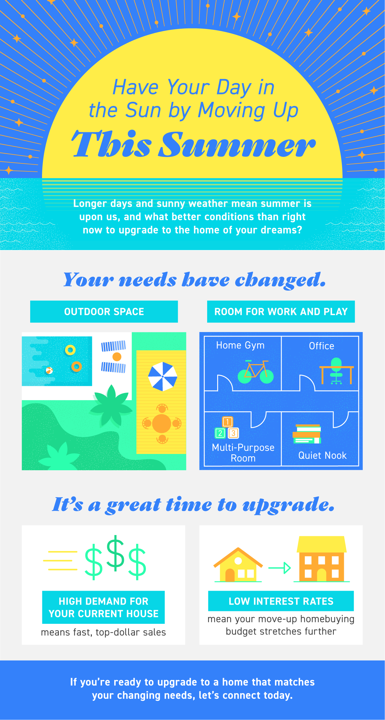 Have Your Day in the Sun by Moving Up This Summer [INFOGRAPHIC]   Simplifying The Market